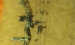 2007 Right Hand Compound Bow.  60#'s & 29 draw length.  Good condition, little use.