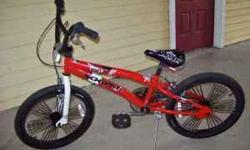 Bike in excellent shape. Heavy duty frame and good tires. For boys 8 - 12 years. Contact caroline at 407-459-5632 if interested.