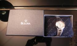 I am spring clean up and are giving a way a brand new Bulova lady watch for only $60.00 (original price is $299.00). I have many watches and this is an extra watch that I never get a chance to wear it.