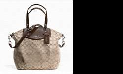 Brand New still in bag with tags Ashley Signature purse Khaki.