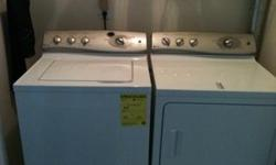Very motivated seller. Brand new, only 3 months old. Will have to pick up. GE profile Energy Starr, 4.1 cu ft stainless steel basket, preciseFill auto water sensing. Washer will auto measure the water to the right amount. HydroWave provides gentle