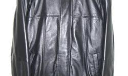 Photo attached. Brand new Boston Outfitters Black Leather Jacket. Never worn. Medium size. Paid $650...asking $400