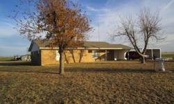 3BR and 1.5 Bath brick home on 2 acres. 2-car garage,storage shed. Recently painted and new flooring.Fireplace. Stove and refrigerator.Pecan trees. Has a water well as well as county water. Quiet location. Mountain backdrop. Email for more info.
