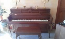 The piano is in great condition, still in great tune, and in like new condition. im asking 2,000.00 for it because when i checked on value its worth 3,800.00-4,000.00 only reason im getting rid of it is because of not haing enough room for it where im