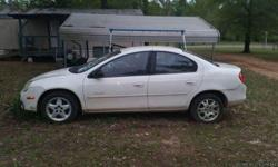 2001 white neon rebuilt engine runs great just needs radiator 35 dollars at pullnpay I'll do it for you if necessary.title in hand brand new security keep great running car call 9034909114 if interested if tour not a serious buyer don't call me