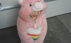 I have a care bears, cheer bear costume for sale. Super warm, size 2-4 yrs. I paid over $80 for it. Asking $20 OBO