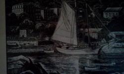 Windjammer in Rockport Maine.