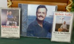 CD or Cassette by Desert Storm Veteran, Country and Gospel Singer. Songs include 'The King Is Gone', 'How Great Thou Art.' 'Wish You Were Here', and many more. $6.00 each plus $2.50 shipping.If you were an Elvis fan, you need this CD. Robert Sadler, 525