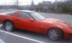 1993 CHEV. CORVRTTE CP 40TH ANNIVERERY LIKE NEW LOW MILES GLASS TOP RED