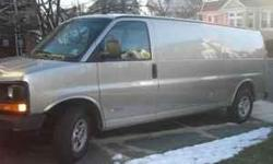 Call for details - 973-901 2635 Year: 2004 Make: Chevrolet Model: Express Trim: VAN Engine: 8-Cylinder Trans: 4 Speed Automatic Fuel: Gasoline Color: GREY Interior: GREY Miles: 61000 Stock #: MPG: 14 city / 18 hwy Body Style: Passenger Van Condition: Used