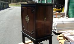 Beautiful Projection Cabinet - Chinese from the early 60`s- with Motion projection Camera to shoot 8MM Film, Offered at only $ 299.00 neg, Please let us know if you are interested in the cabinet with the Keystone Motion Projector K-161 Call Today