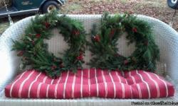 homemade christmas wreaths made to order $20 call 561 996 1670