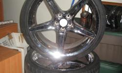 20 inch 5 lug pattern with lugs on used tires