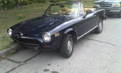 1975 Fiat Spider with under 84k. Good paint and interior. Call/text for more information. Jeff 479.966.0384
