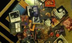 over 70 new or like new CD,s in their cases. alot of Mozart, Bach,Beethoven, Chopin, Bream, Fisk, Church and Bell, to name a few. Would like to sell the whole mess of them and be done with it --