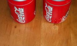 Coca Cola Items - Collectible - starting at $2  Coca Cola Salt & Pepper Shakers - some flaking and missing tabs -$5.00 (#109) Coca Cola Tin Locker - Good Condition - $2.00 (#110) Coca Cola Magnet -Good Condition - $2.00 (#111)