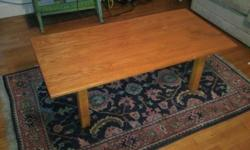 Coffee table $20 matching end table $10