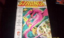 Strange Adventures,#232 sept.-Oct,-1971-30900 25cents,worn,But still pretty good condition,will take bids ,,thank you,,