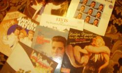 COLLECTABLE VINYLS Marilyn Monroe (1962 Mr. President & Jane Russell), Sammy Davis Jr., Billie Holliday (1973), ELVIS (1971 & THE CHRISTMAS ALBUM), Led Zepplin (1969), Duke Ellington (1966) and many many more. CALL TODAY 512-607-6494 ..ask forBobby or