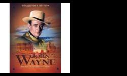 "Includes 22 OF ""The Duke's"" Classic Movies plus a biography of the star. Brand New."