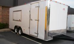8.5x20 2010 Brand New Concession Trailer Loaded! Price at 25,499  Pro Concessions 3740 Washington Road Martinez, GA 30907  Cell: -- proconcessions@yahoo.com  Price Includes: Smooth White Aluminum Exterior Additional Roof Bows (16?