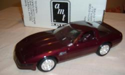 Five corvette promos cars 1953 1991 1991 ZR1 40th anniversary edition 1993 1992 ZR1 with boxes. All in excellent condition. Been in show case.