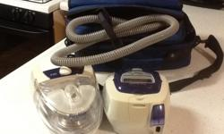 Sleep Apnia machine- used three times. Excellent condition-immaculate- including awesome carrying case. ResMed S8 Auto Set Vantage System
