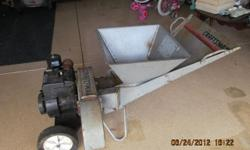 Craftsman Chipper , good condition. Works Well.