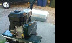 """6.0 Horsepower 26"""" Craftsman Rototiller for sale. In EXCELLENT Condition!!! Used only one day each year. Runs like a charm. Front tine. Great for home gardener use. If interested, call Ken at --."""