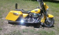 2003 harley davidson road king custom 40750 miles excellent condition $9800 obo