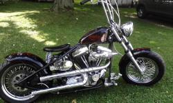 Custom Harley Bobber. S&S super stock heads, Crane HI 4 ignition, 3in BDL open primary, Paul Yaffee pipes, S&S pistons, new battery, 180 rear tire, 2 sets of handlebars, Santee custom hard tail frame. NEED TO SELL ASAP! $6,000 or best offer 585-494-0422