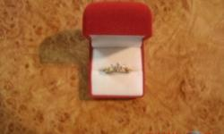 very nice ring and new I want to sell it with watch very lovely for your wife or girl friend :)
