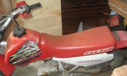 Honda XR 80R   Red