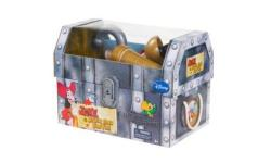 Disney Jake and the Neverland Pirates CAPTAIN HOOK'S Treasure Chest NEW Includes: hook with cuff, sword, spyglass, map of Neverland