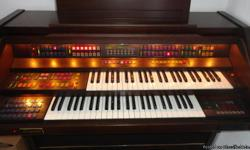 We want to make a quick sale so we are offering this beautiful, excellent condition organ for a quick sale price. The price is non negotiable! This Organ is in excellent condition.