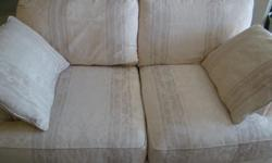 Excellent condition. Down filled sofa and love seat. Only $300.00 for both. Call 561-688-4087