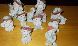 9 Dreamsicle Angels for sale $25.00. cash on pickup only. call Candy --