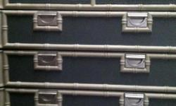 tra5 drawer dresser blue/gray with light gray trim
