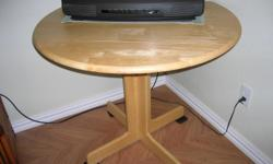 Drop Leaf tdining table with 2 padded seat chairs.  Perfect for small area.  North Padre Island.  Please call to see.  --.