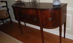 Duncan Phyfe Buffet - excellent condition with beautiful inlay. Can be purchased separately for $575 Duncan Phyfe China Cabinet ? good condition, need a pull on the door. Can be purchased separately for $400