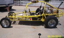 NEWLY REBUILT 2274 CC V W ENGINE, 2 SEATS, 2 CARBS, DISC BREAKS, 2 SETS OF HEAD LIGHTS, 3 SETS OF TIRES W/ RIMS, OIL COOLER, BATTERY-OIL-TEMP GUAGES, CB W/ 10 FT ANTENNA, TOOL BOX AND MANY EXTRAS... NO TRAILER NO DELIVERY FOR MORE INFO CALL JOE 626 375