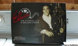 This collection is the Graceland Edition....and never has been played.  Box is damaged in one corner...but, all contents are in orginal condition.  A great buy...lots of snap shots of Elvis, and great DVD's of some of his movies.  Set is
