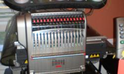 I am selling this business because I do not have the time to devote to it. I have return customers and businesses for embroidery and this will be passed on to the new owner.  The computer has only been used for the machine.  Purchased in