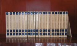 Complete set of Encyclopedias. Purchased in 1990-1991. Very nice set for your library.