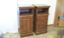 Here are 2 nice end tables with a storage at the bottom these are in good shape and would go in any room you want dont miss these they are like new