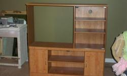 Entertainment Center for Sale. If interested, please contact me at imakider@att.net. No scam e-mails please!