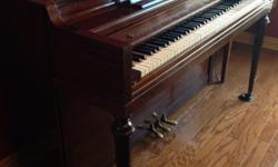 Everett upright piano. No bench. Asking 150 or best offer. Pick up in Jonesboro.