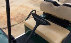 2006 EZGO GAS CART WITH BED GOOD COND