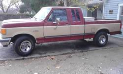 I HAVE A 1989 FORD TRUCK IN GOOD CONDITION RUN GOOD AND DRIVE GOOD NO OIL LEAKS JUST NEED TAGS AND STICKER GOT NEW TIRES THE TRUCK HAVE BEEN TOOKING GOOD CARE OF