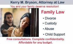 Kerry M. Bryson Family Law Attorney 662-205-0008 begin_of_the_skype_highlighting FREE CONSULTATIONS
